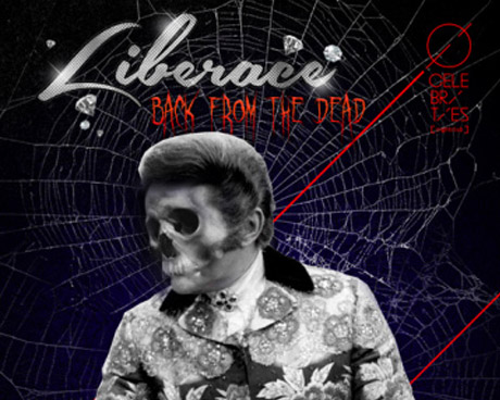 Celebrities Liberace Halloween Poster