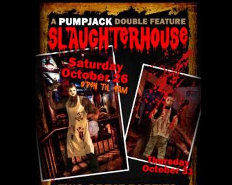 PumpJack Pub Slaughterhouse Halloween Poster