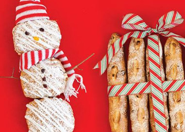 Baked holiday treats from Cobs Bread