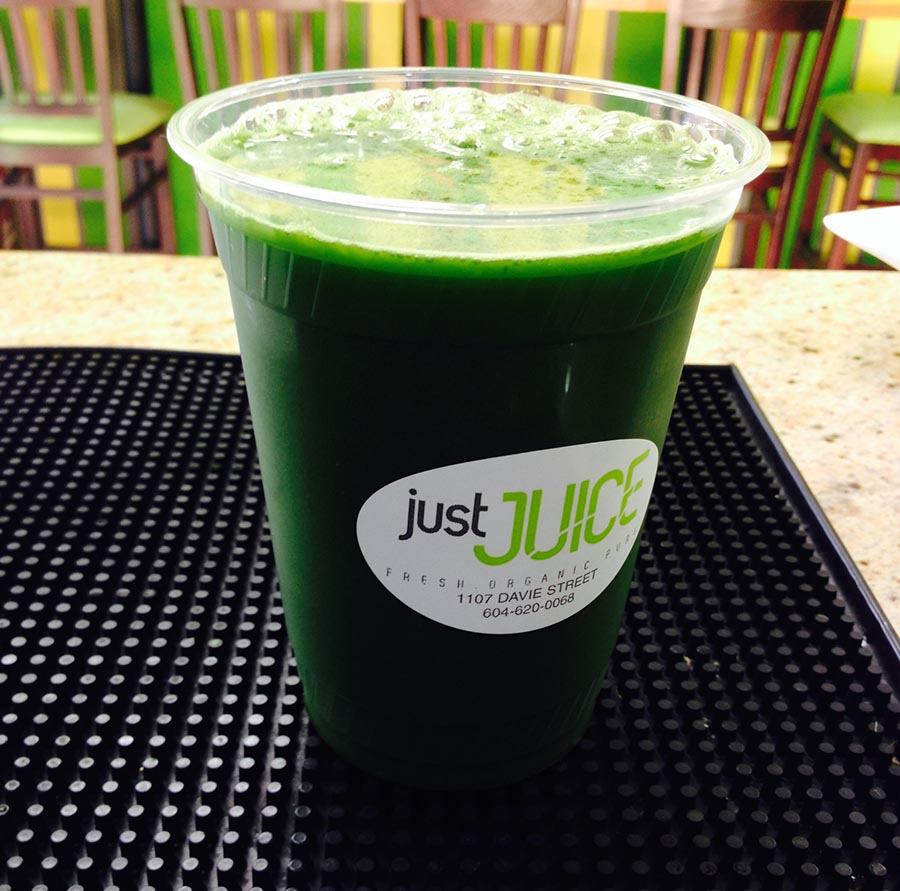 Juice from Just Juice in Vancouver