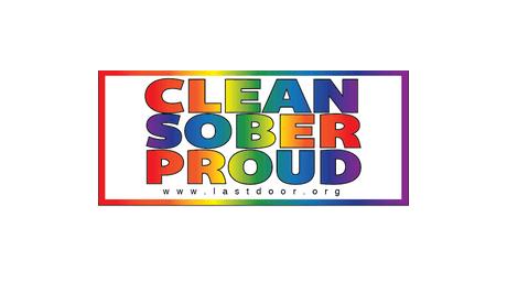 Clean Sober & Proud Logo